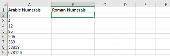 How to Convert Arabic Numerals to Roman Numerals in