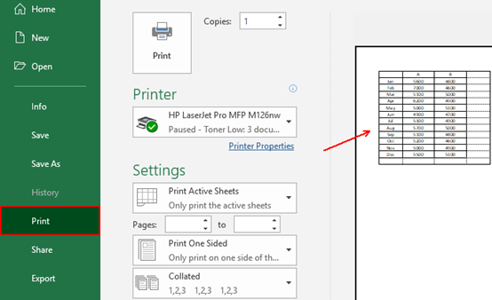 How to Print a Worksheet in Excel With Gridlines - My