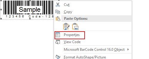 How to Create a Barcode in MS Excel and Word - My Microsoft